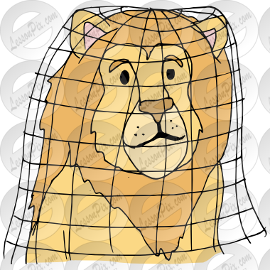 Trapped Picture for Classroom / Therapy Use.
