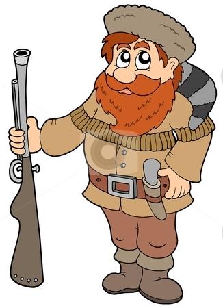 Trapper Clipart.