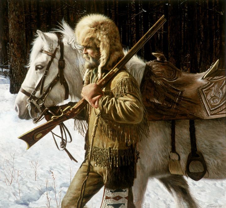 1000+ images about American Frontiersmen and Mountainmen on.
