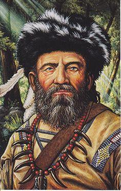 Duane Richardson, Mountain Man, Frontiersman, Trapper.