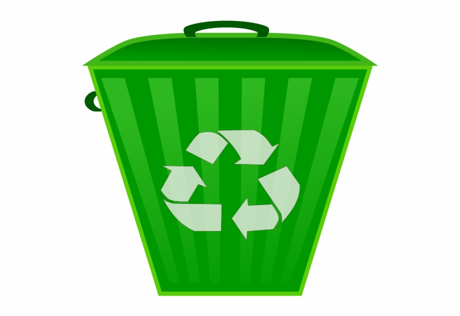 Recycle Bin Recycle Trash Can Clipart.