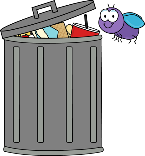 Trash can clipart #10