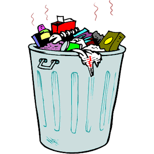 garbage pail clipart #3