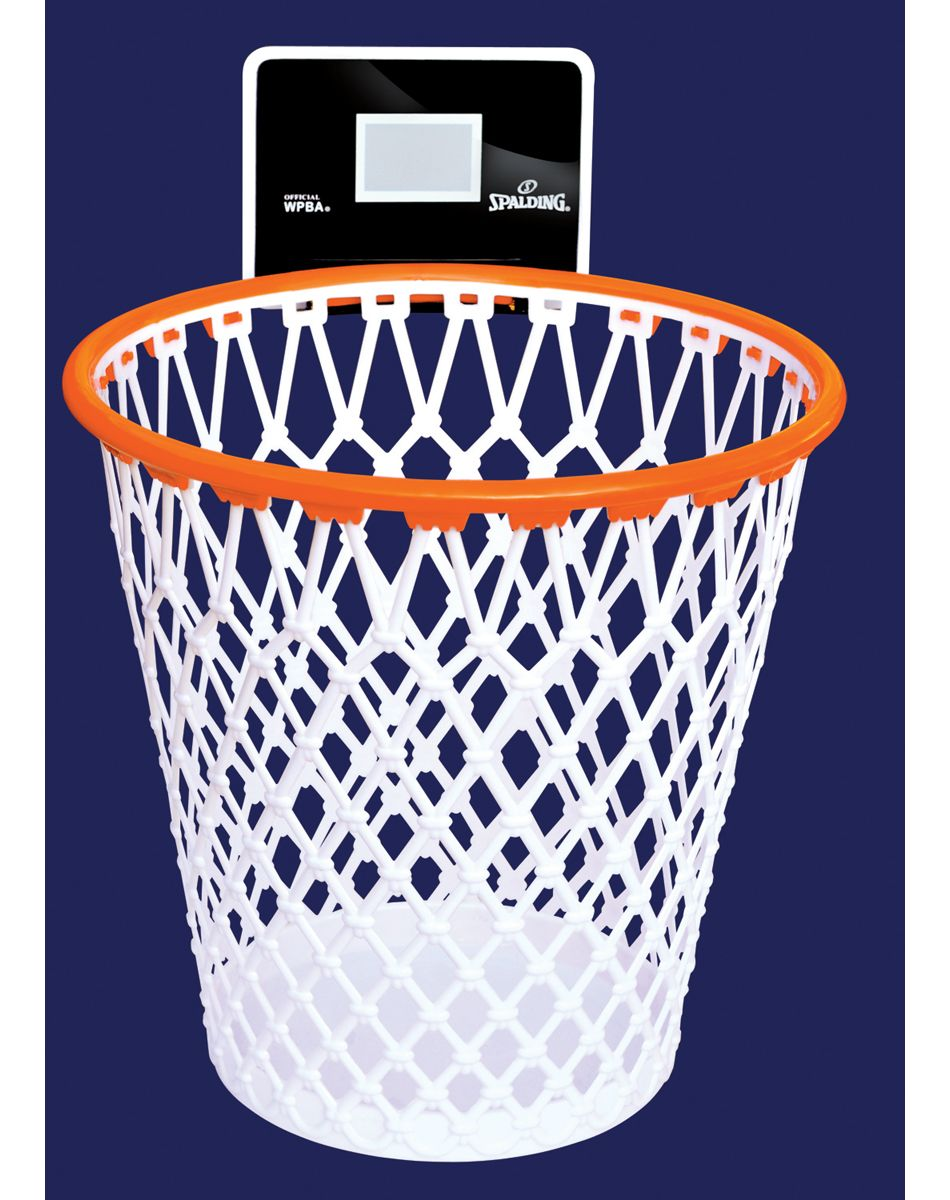 Basketball Net Trash Can.