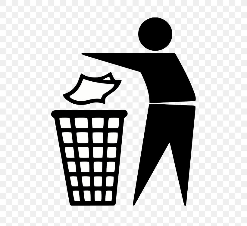 Tidy Man Rubbish Bins & Waste Paper Baskets Logo Clip Art.