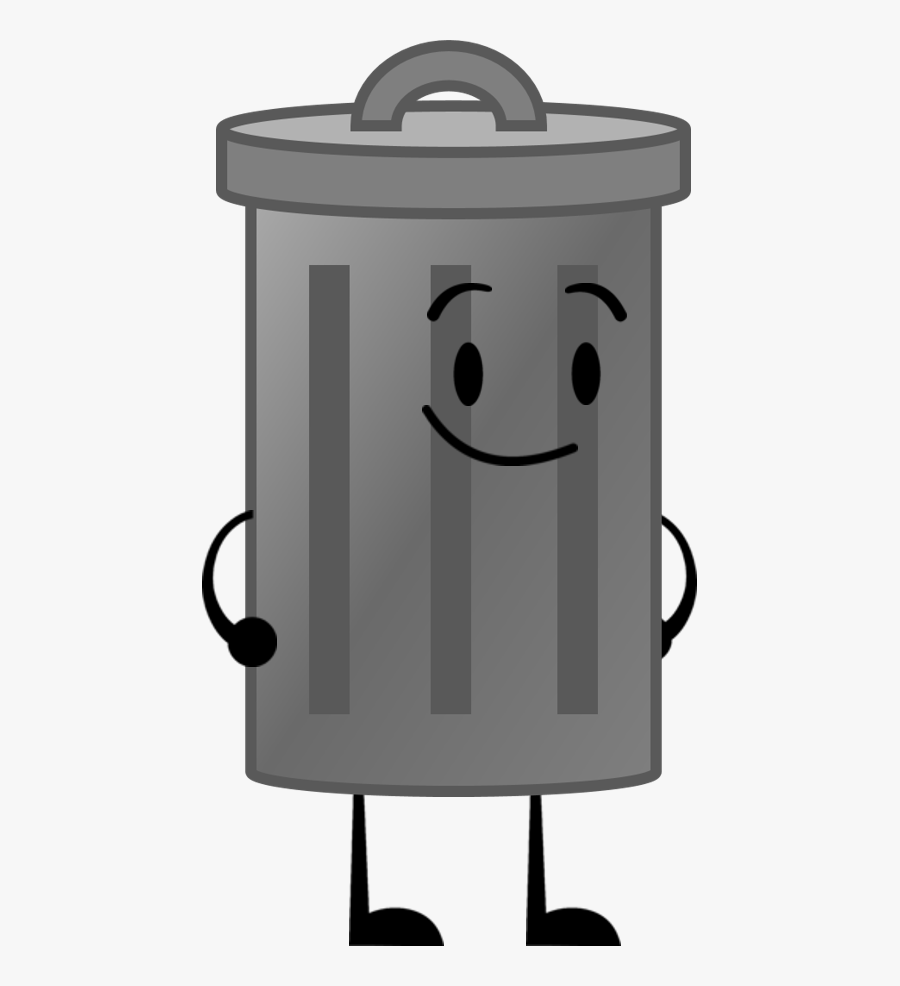 Transparent Trash Can Clip Art.