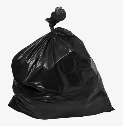 Garbage Bags Transparent Trash Bag PNG Image.