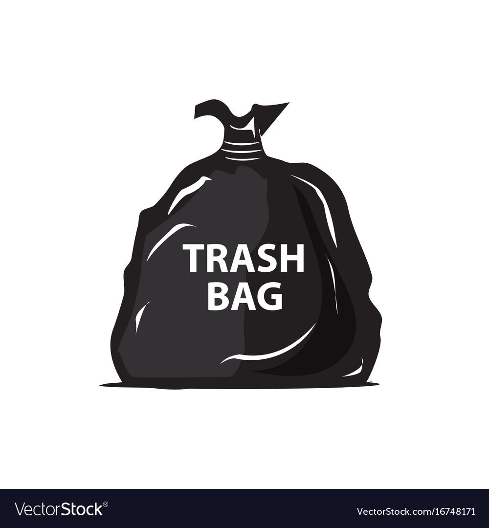 Garbage bag icon.