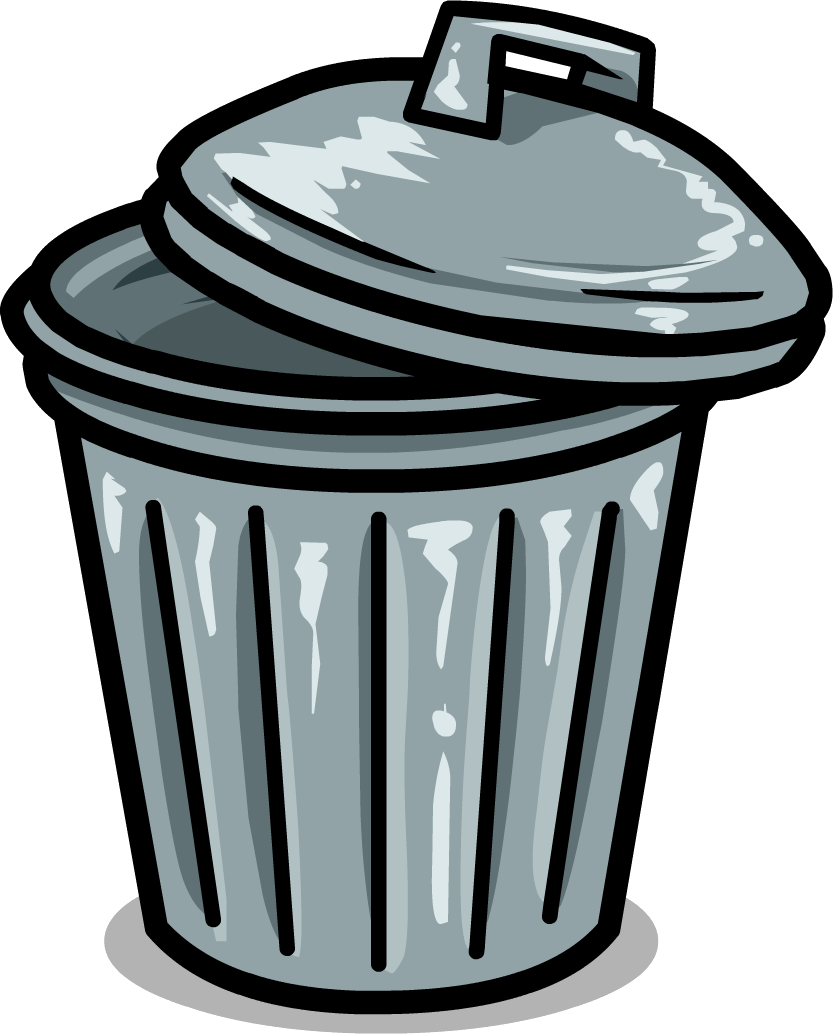 Trash Can Clipart.