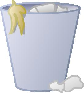 Trash bin clipart.