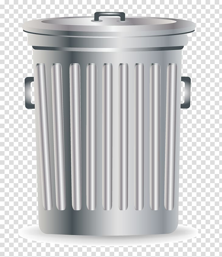 Waste container Recycling Tin can, metal trash can.
