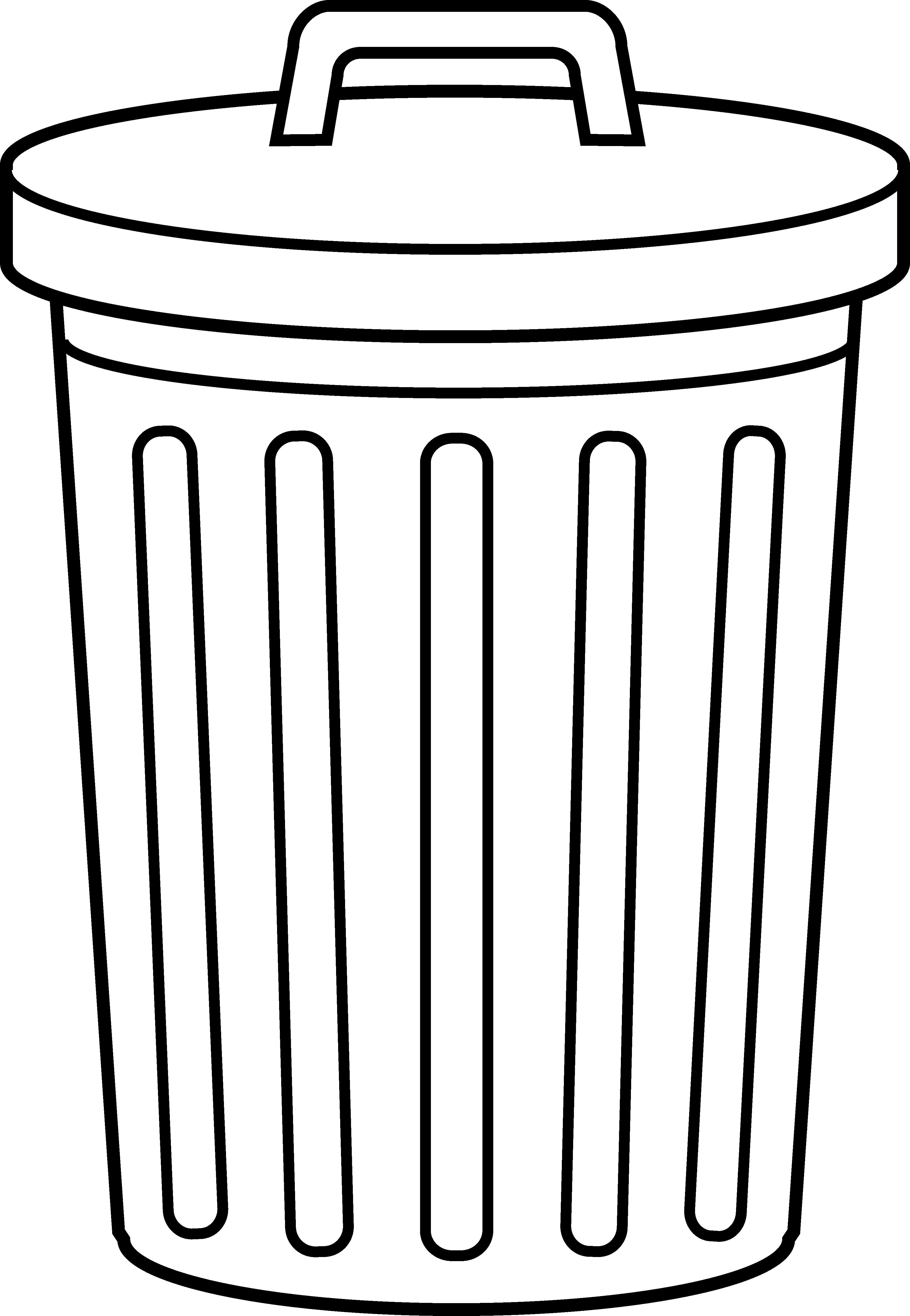 Trash Can Clip Art & Trash Can Clip Art Clip Art Images.