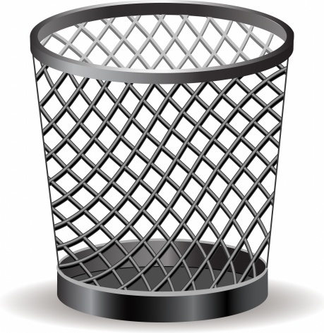 Trash can Free vector in Adobe Illustrator ai ( .AI.