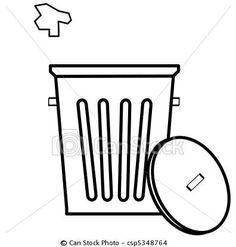 11 Best Trash Cans & Garbage Trucks images.