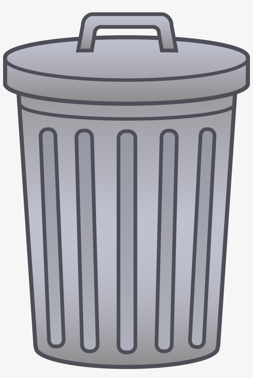 Svg Transparent Garbage Can Clipart Letters Format.