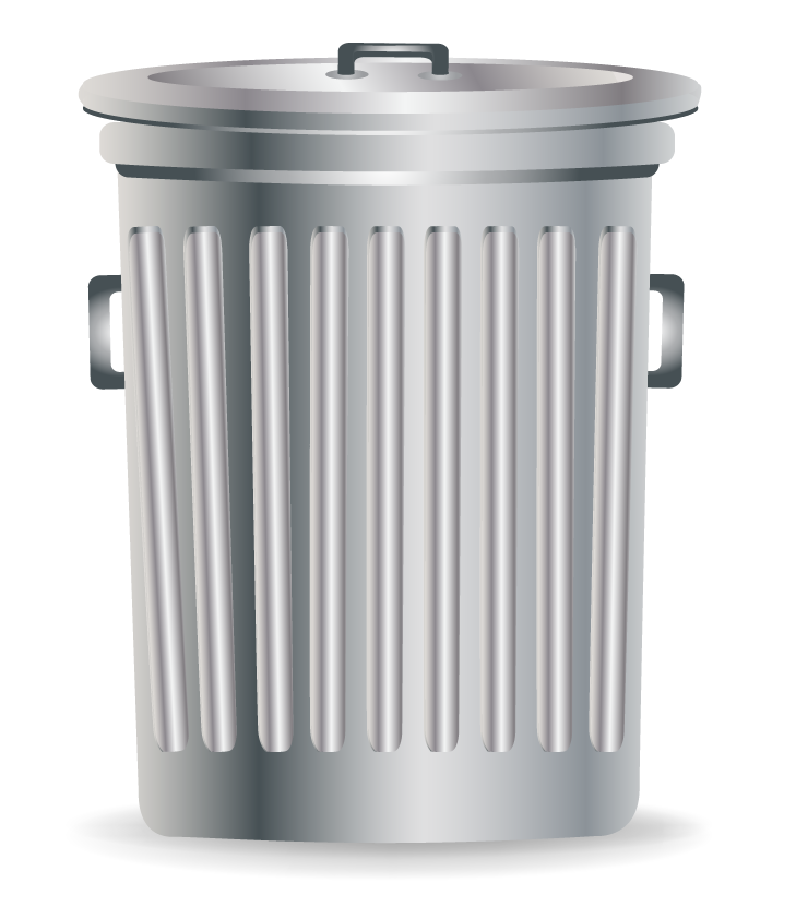 Waste container Recycling Tin can.