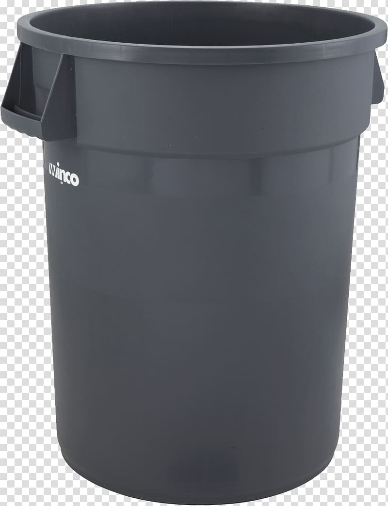 Trash can transparent background PNG clipart.