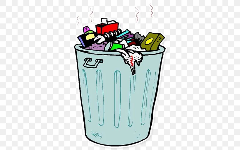Rubbish Bins & Waste Paper Baskets Clip Art Step On Trash.