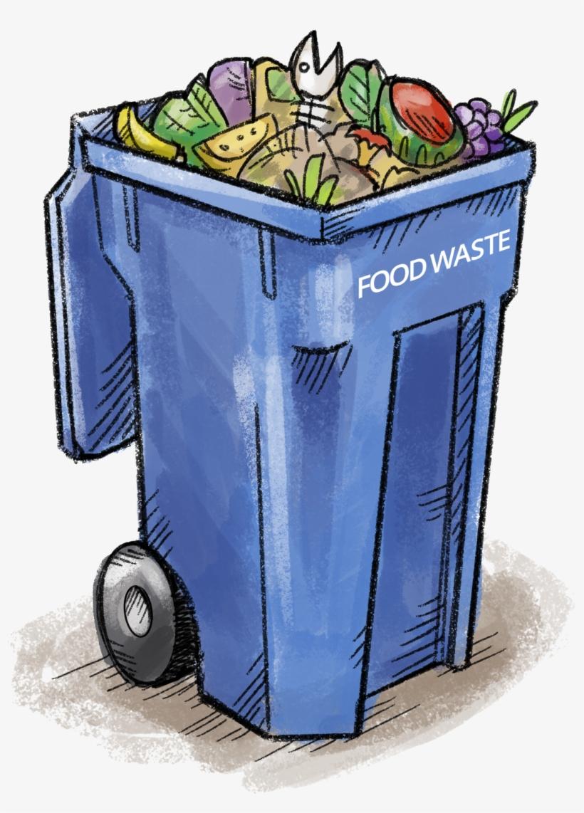 Food Waste Bin.