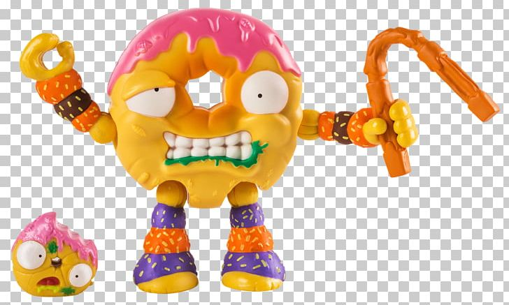 Donuts Bakery Gang Trash Pack Action & Toy Figures PNG.