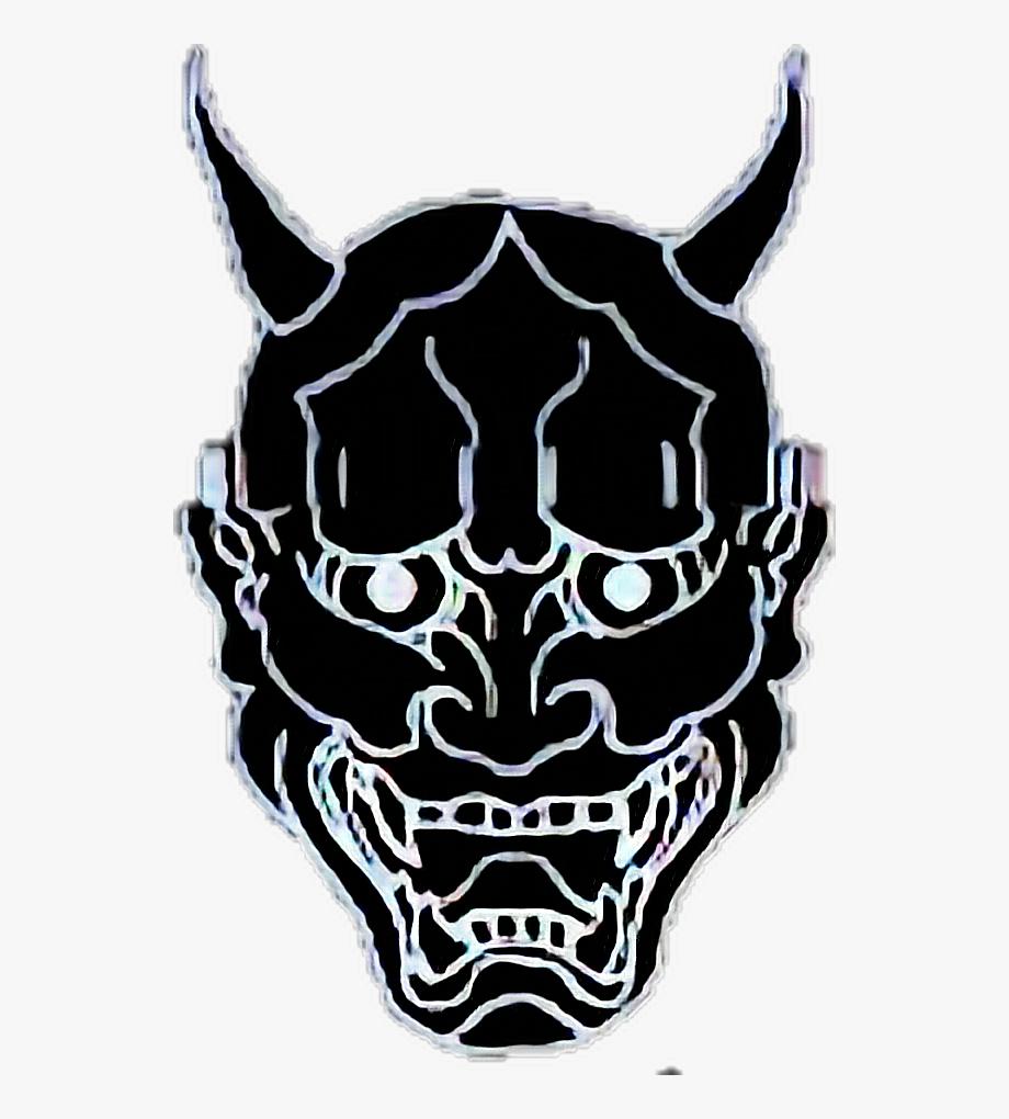 Demon Sticker.