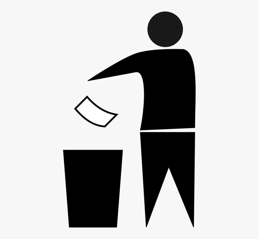 Trash Man Symbol Png , Free Transparent Clipart.