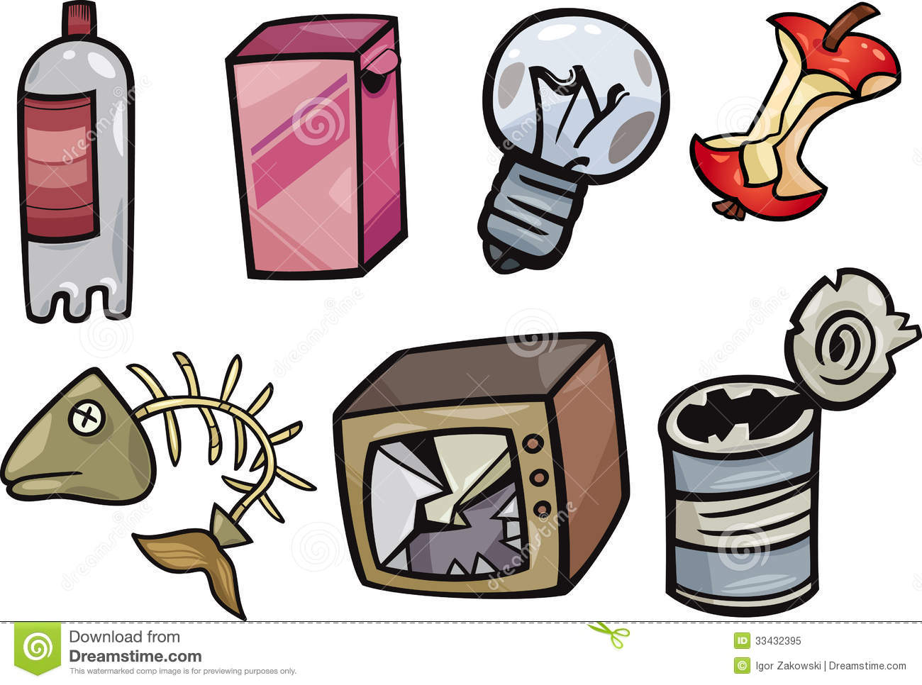 2006 Garbage free clipart.