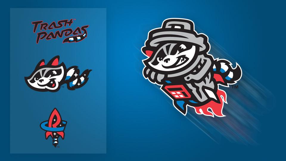 Rocket Raccoon: Trash Pandas unveil logos.