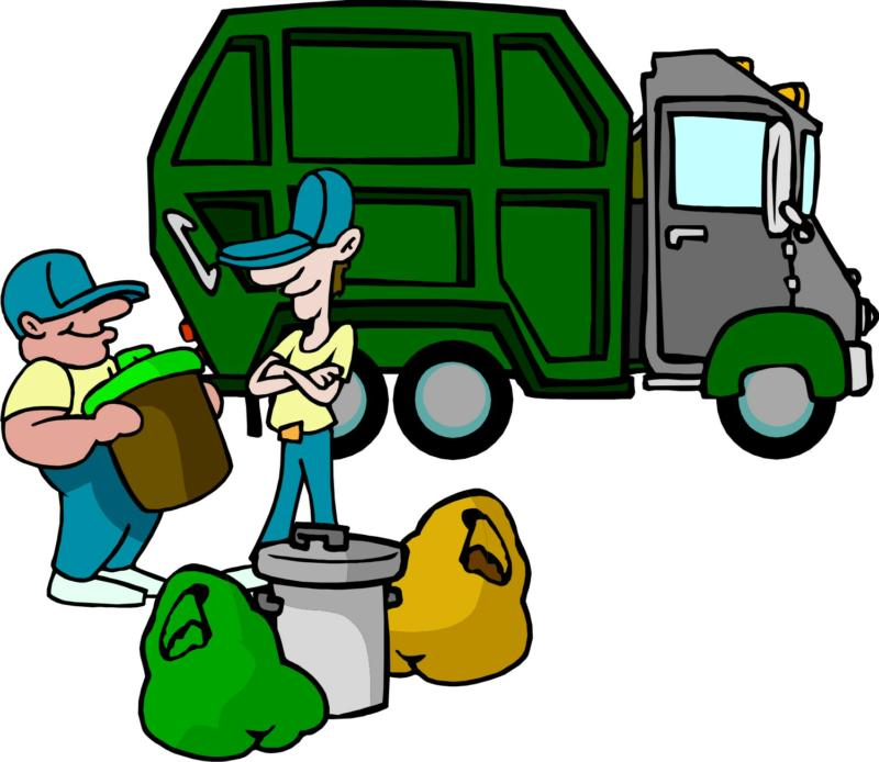 Trash Collection Clipart.