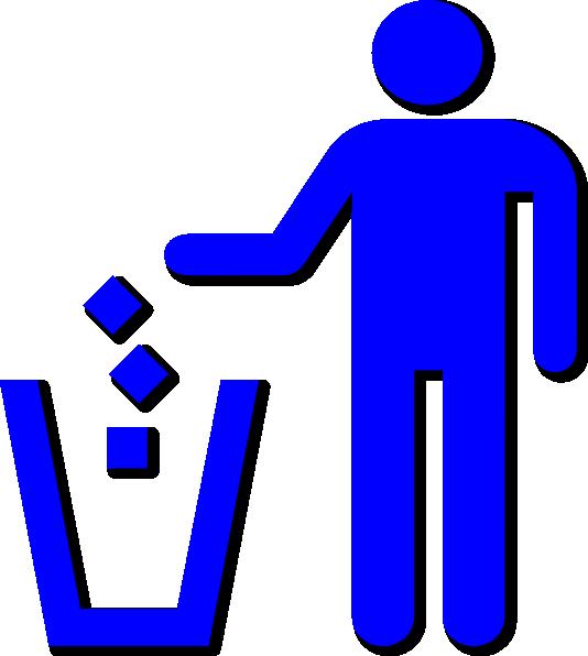 Use Trash Sign Clip Art at Clker.com.