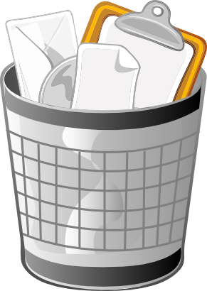Free to Use & Public Domain Trash Bin Clip Art.