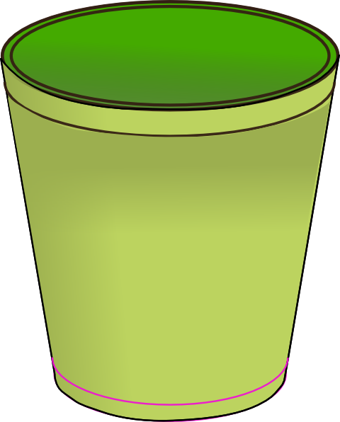 Green Trash Bin Clip Art at Clker.com.