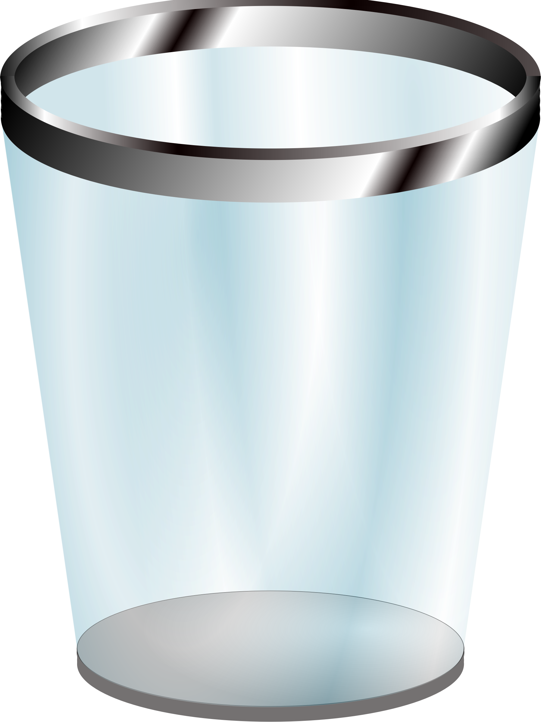 Trash bin clipart free no backwround.