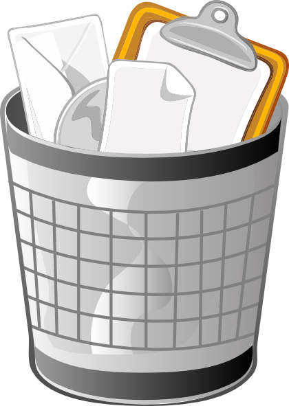 Free trash can clipart.