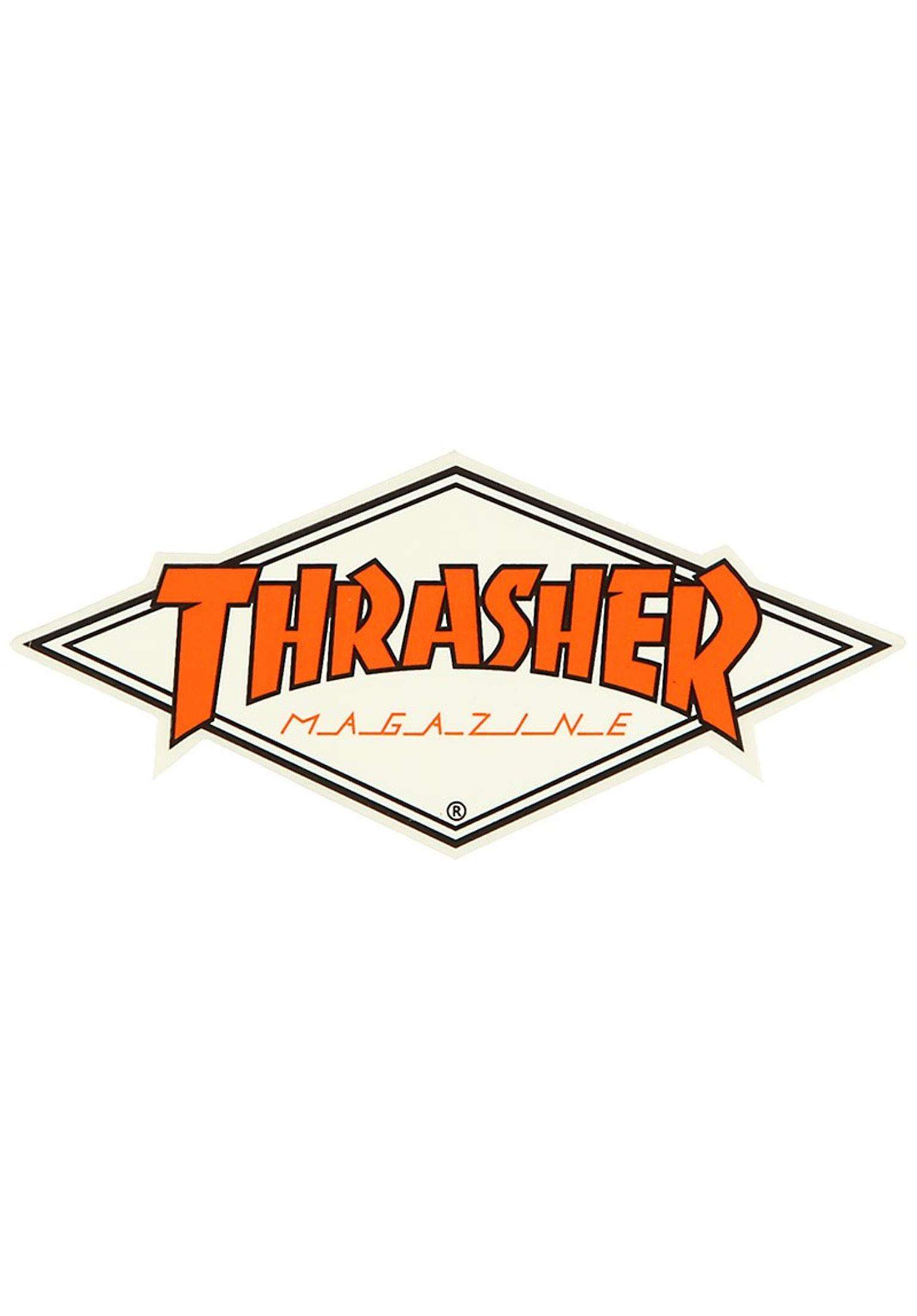 Thrasher Diamond Logo Sticker.