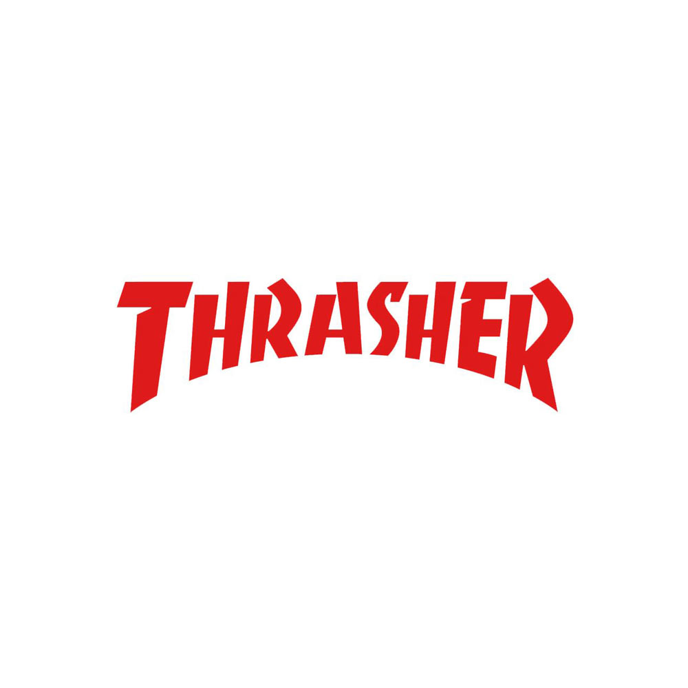 Thrasher Logo Die Cut Sticker 2.125\