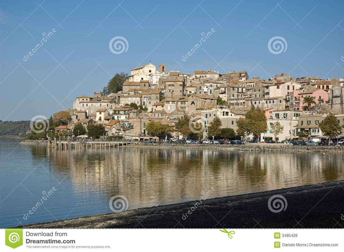 Trasimeno Lake In Italy Royalty Free Stock Photos.