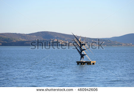 Lago Trasimeno Stock Photos, Royalty.