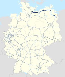 Bundesautobahn 20.