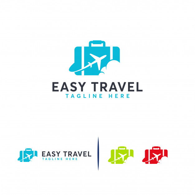 Easy travel logo , travel agencies logo template Vector.