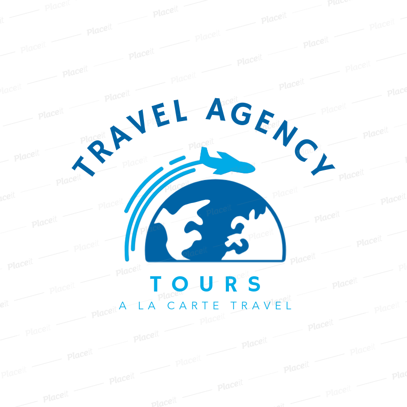 Travel Agency Logo Maker 1281.