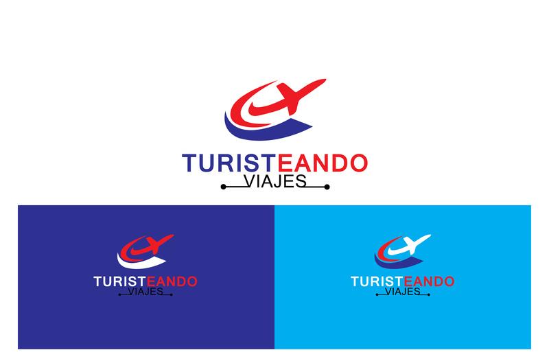 Travel agent logo by Shamsul Ali Noman on Dribbble.