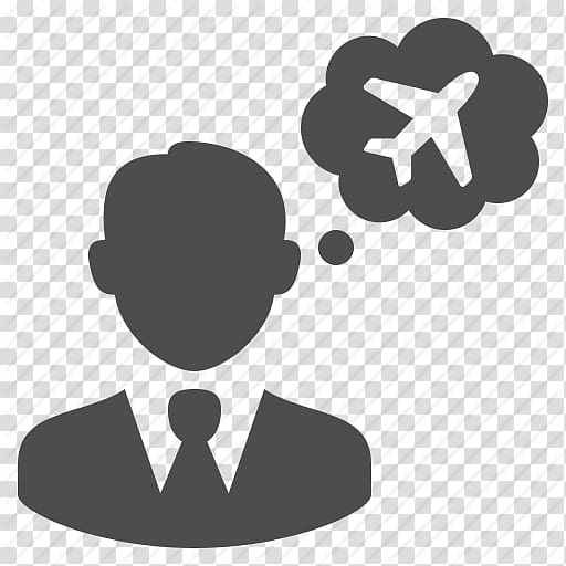 Computer Icons Travel Agent, Thinking, Thought Bubble Icon.