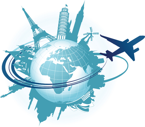 Travel The World Clipart.