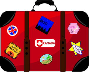 Travel Luggage Clipart.