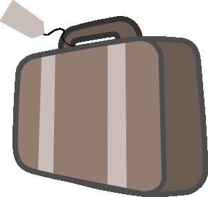Travel bag clipart.