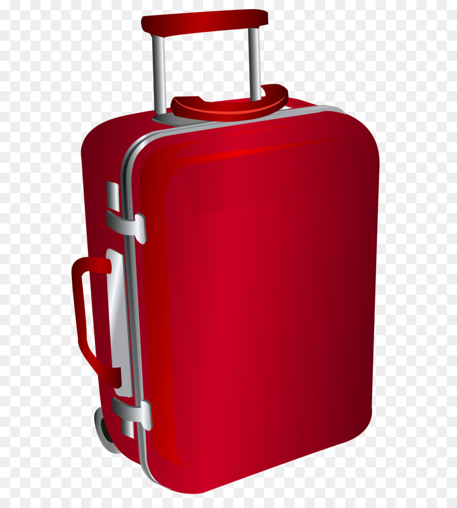 Travel Suitcase png download.