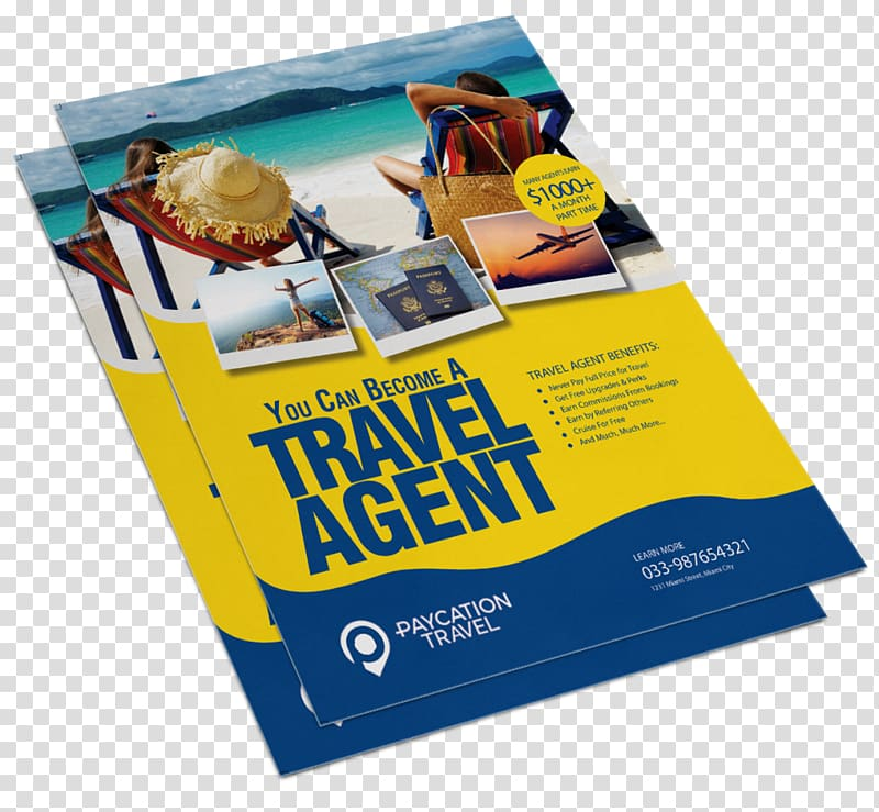 Flyer Paper Advertising Printing Travel, flyer mockup.