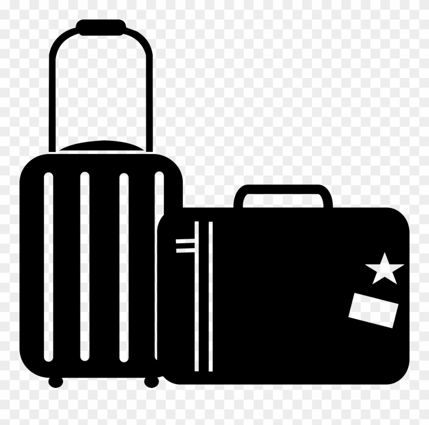 Travel Clipart Black And White.
