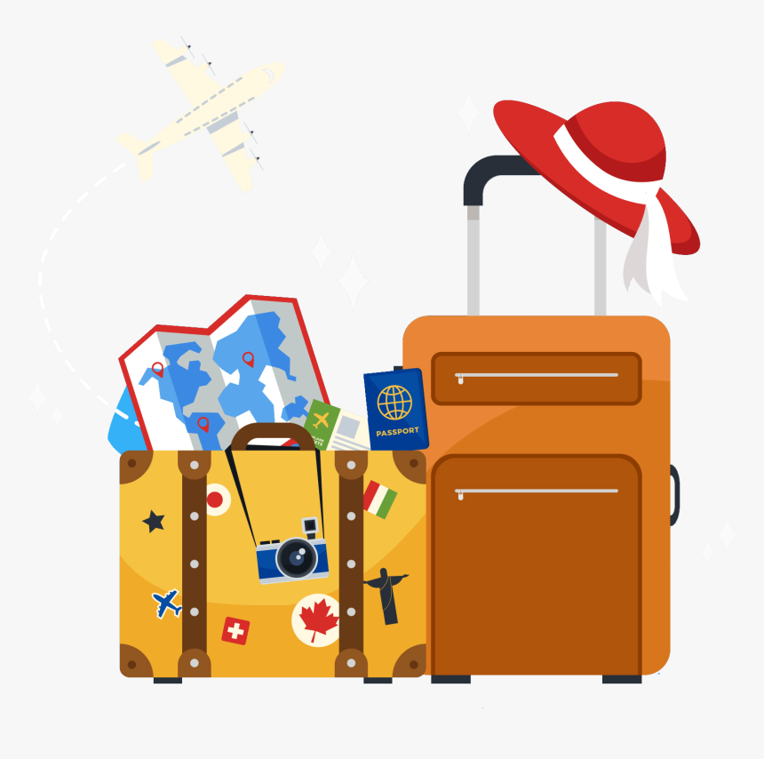 Transparent Traveling Clipart.